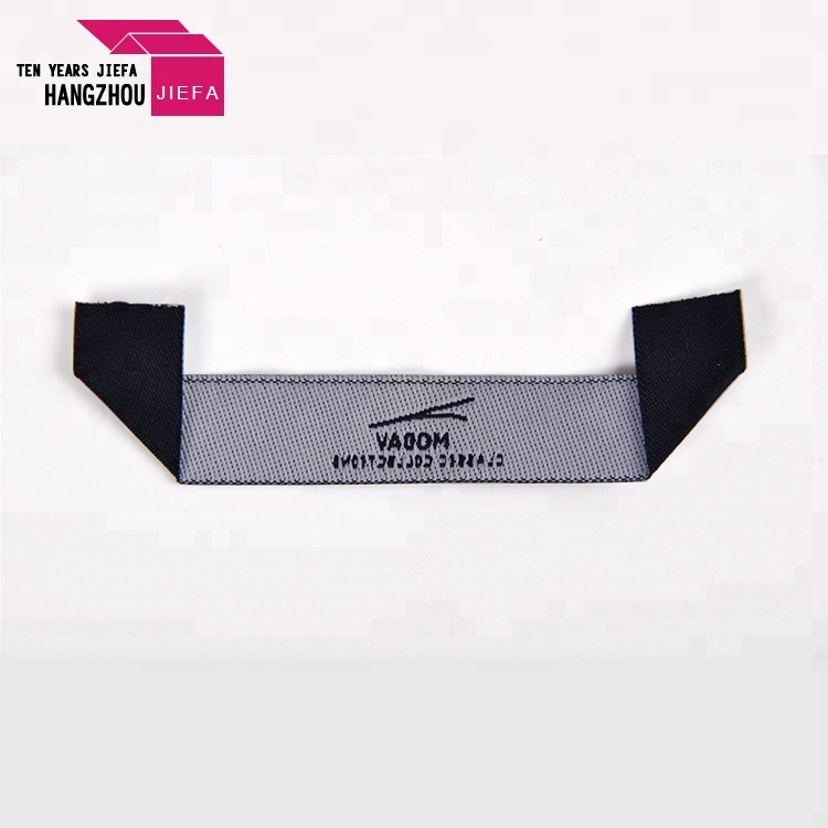 Wholesale cheap custom name tag garment clothing woven labels