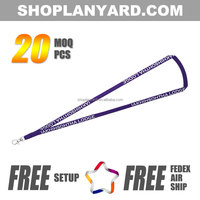 Plain id card holder tube custom design lanyard
