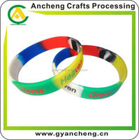 new products silicone wristbands for nick for promotional gifts