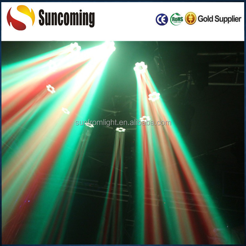 6x15W led sharpy moving head professional lighting systems