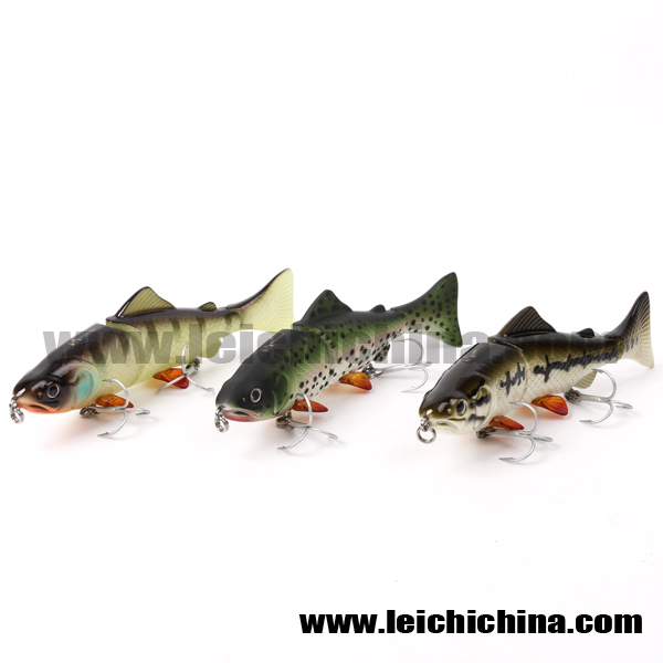 Wholesale fishing bait and tackle multi jointed fishing for Bulk wholesale fishing tackle