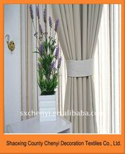 new hot sales 100 % Polyester Plain coloured monochrome curtain fabric