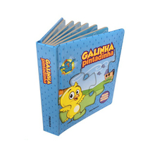 Hardcover good quality coloring Children story book printing services in China