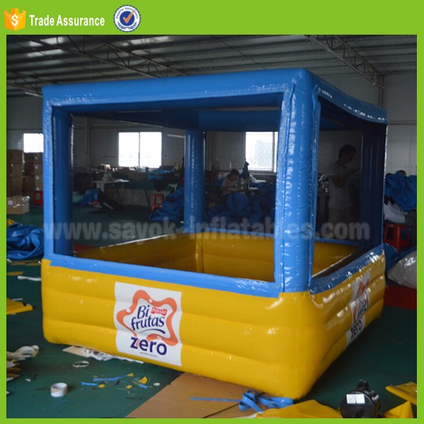 inflatable ball goal mini ball pitch games water pool small swimming pool for kids