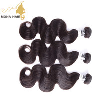yes virgin hair body wave style wet and wavy human hair type raw unprocessed indian 100 human hair