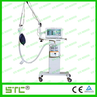portable medical anesthesia machine with ventilator