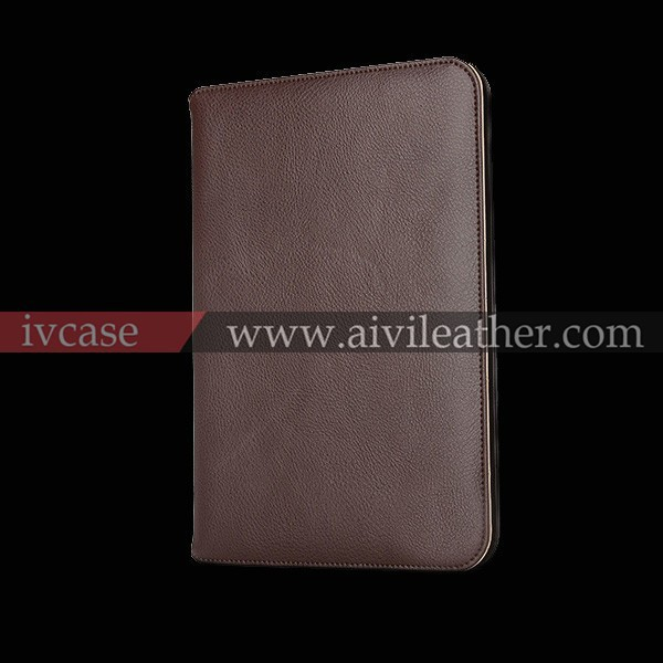 wholesale genuine leather case for ipad , for ipad genuine leather case ,flip cover case for tablet
