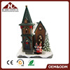 Christmas Miniature Houses Snow Village Lighted