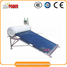 Online shop china lnon pressured flat panel solar water heater price