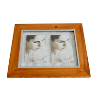 Custom Factory Price Personalized Fashion double sided glass picture frame