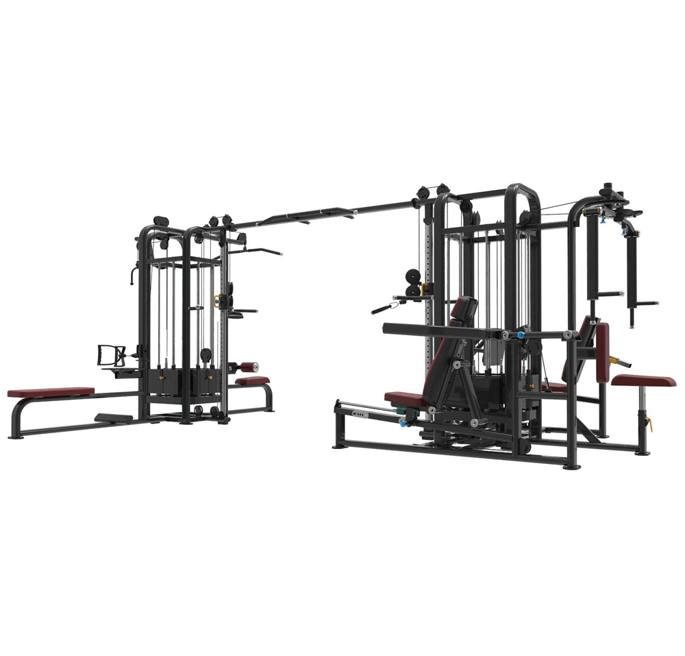 jinggong <strong>fitness</strong> 8 Station weight machine Multi GYM <strong>Fitness</strong> Equipment