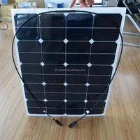 65W 18V Sunpower Semi Flexible Solar Panel