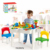 wall building block table DIY zoo (39 pcs)