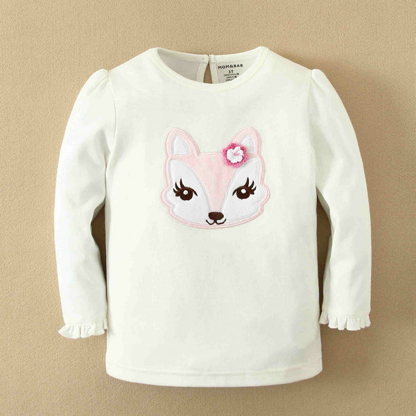 hot sale and wholesale t-shirts kids white manufacturers and wholesalers, made of 100% cotton, girls T-shirt