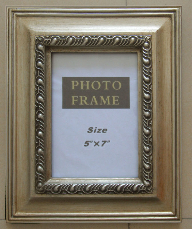 Minimalist classical wood frame photo picture frame indian home design photos