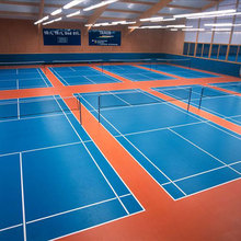 3.5mm thickness pvc indoor sport ball badminton court