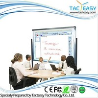 Best quality Infrared school whiteboard magic whiteboard with interactive whiteboard software