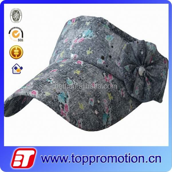 fashion summer wide brim sun visor hat