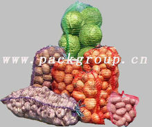 vegetable mesh bag, grid for packaging vegetables