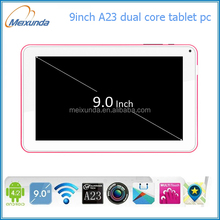 Dual core android tablet pc best 9 inch boxchip A23 laptop and tablet manufacturer