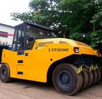 Famous Brand Lutong Pneumatic Tyre Roller LTP1016 Road Roller
