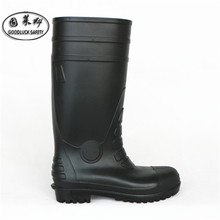 pvc safety shoes mining industrial working boots