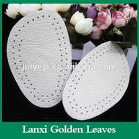 Calfskin leather arch support forefoot pad Half leather insole high heel shoe shank insole shank