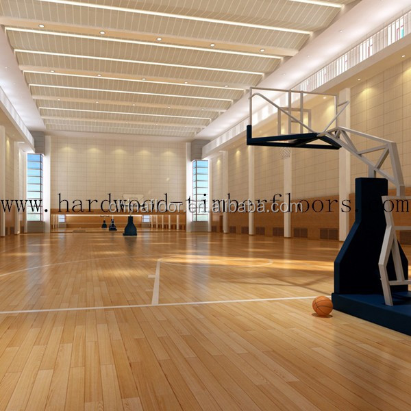 Indoor basketball wood flooring Maple floorings