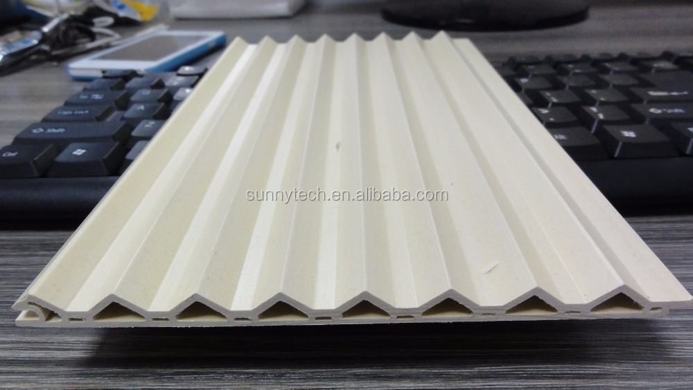 Hot Selling Recycled 100% China wpc hollow decorative skirting boards