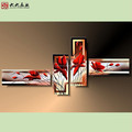 FG-02351 Handmade oil painting beautiful flower paintings