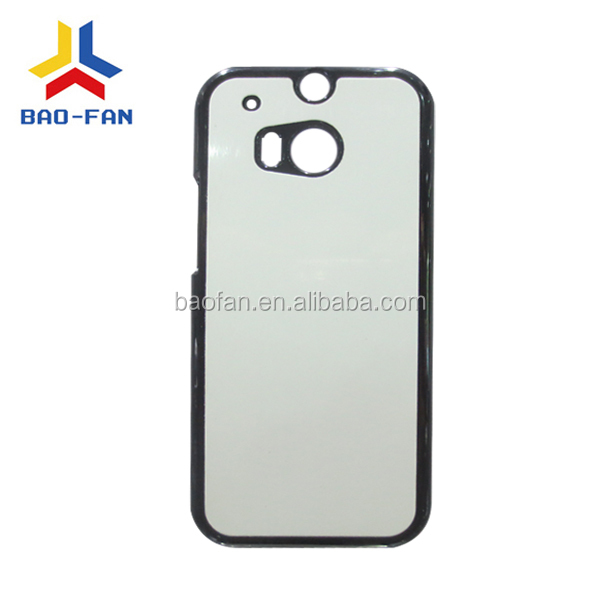 Sublimation phone with aluminum insert for HTC ONE M8