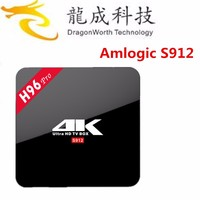 New model Amlogic S912 Octa Core Android 6.0 Marshmallow Smart TV Box 2.0Ghz 8GB with phone remote
