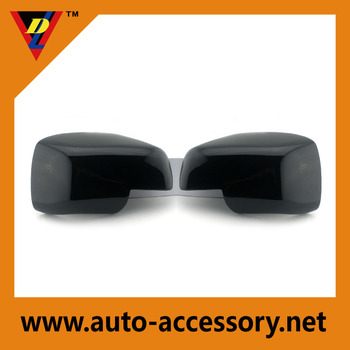 Chrome matt black rearview mirror cover for Range-Rover rearview mirror