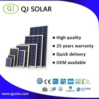 Alibaba Hot Sale High Efficiency High Quality 5W 10W 20W 50W 100W 150W 250W 260W 280W 300W 350W Solar Module / Solar Panel