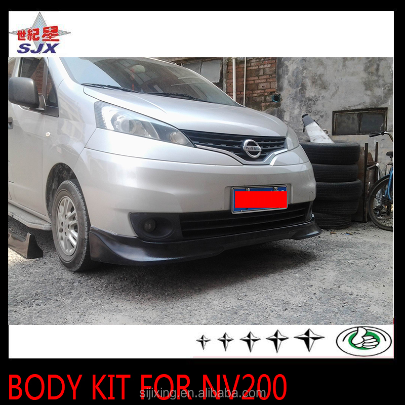 Body kit bumpers for NV200 4pcs in one set car bodykit