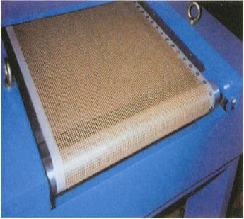 PTFE and glass mesh conveyor belt mesh size approx. 4 x 4 anti - UV