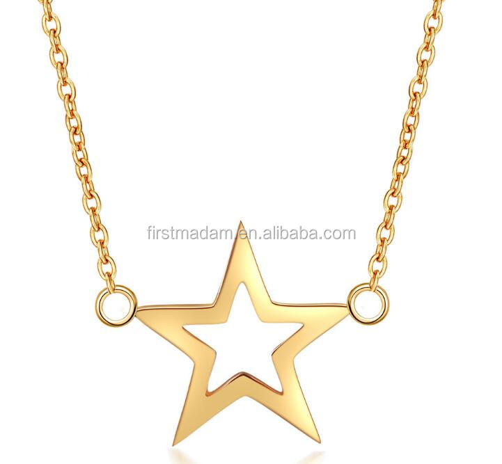 Wholesale Artificial Gold Long Chain Imitation Airplane Necklace