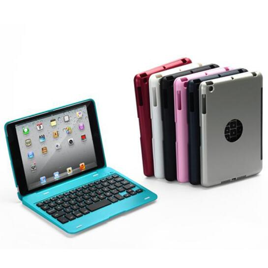 Wireless Bluetooth Keyboard For iPad Mini 1 2 3 Keyboard Case With Stand