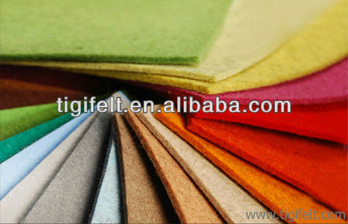 10mm Thick Colorful Synthetic Felt