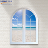China senior Supplier European Style Aluminum Arched Top Round Design Window Aluminum Swing Windows