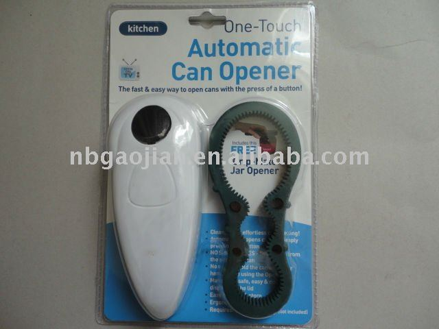 Battery operated easy can opener 1