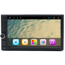 Android 6.0 Qual Core Touch Screen Car Stereo 2Din Radio GPS radio Support WiFi/USB/SD/Bluetooth