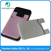 New and Hot Promotion Gift 3M Silicone Credit Card Holder