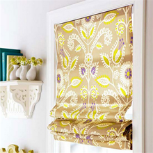 ROMAN SHADE Type and Printed Pattern roman blind curtain