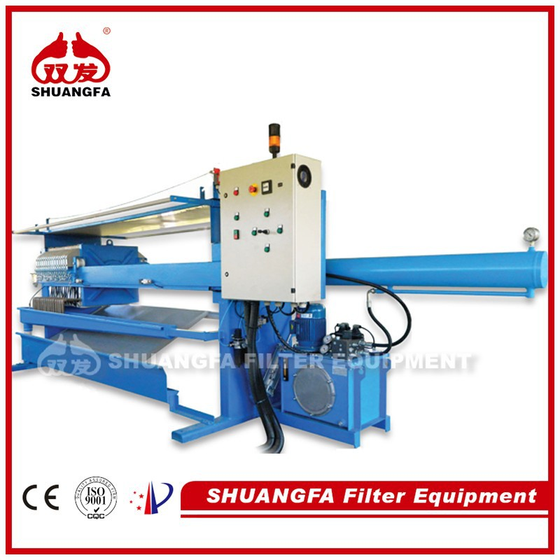 Automatic Quick Discharge Filer Press Machine, Chamber Filter Press with Short Working Cycle