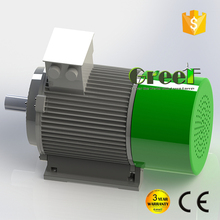 500W 1KW 5KW 10KW low rpm 3 phase ac permanent magnet synchronous generator for home use