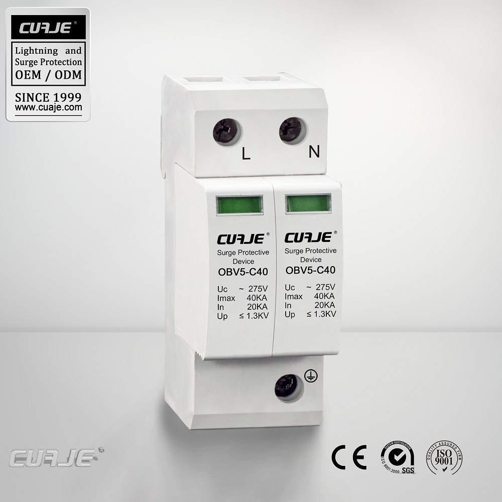 hot selling surge protection device 4P, Surge protector 40KA