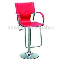 New Design PVC And Stainless Steel French Stool Bar Chair XQ 311
