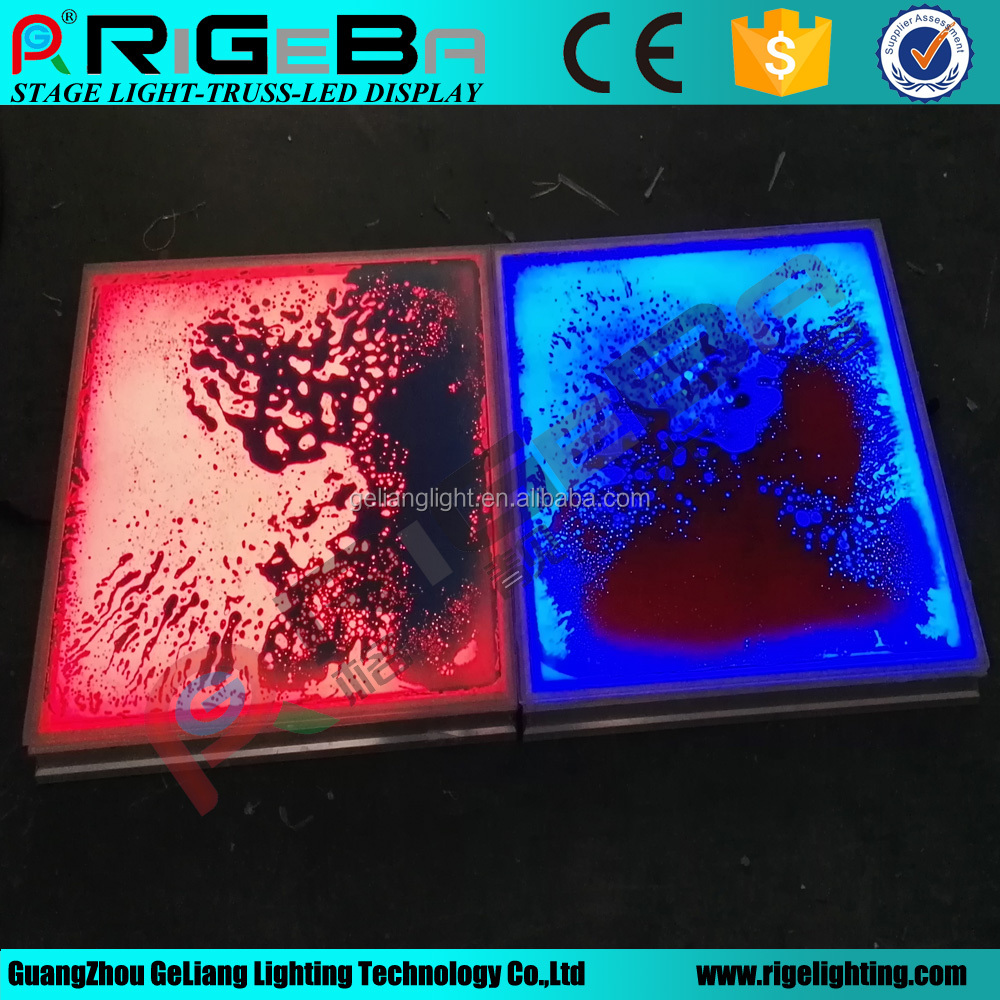 New Led Liquid dancing floor for party event show