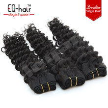 2014 6A Buy direct from factory ensured quality natural pure oprah curl remy hair deep wave Wave